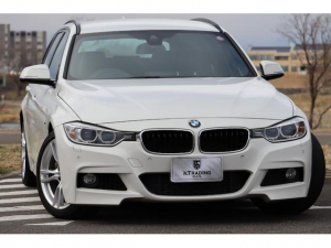 BMW 3シリーズ 335iツーリング Mスポーツ 8AT パドルシフト V6ツインターボ 1オーナー 黒革シート シートヒーター 純正HDDナビ バックモニター 電動テールゲート インテリジェントセーフティ ACC 車線逸脱防止機能