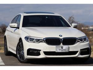 BMW 5シリーズ 523d Mスポーツ 1オーナー ブラックフルレザー SR 純正HDDナビ 360度カメラ インテリジェントセーフティ 19AW 電動テールゲート アンビエントランプ BMWコネクテッド・ドライブ