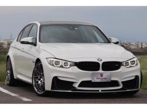 BMW M3 M3 コンペティション 1オーナー 専用スタースポーク・スタイリング666鍛造20AW カーボンルーフ カーボントランクスポイラー harman/kardon ブラック・フルメリノレザー ヘッドアップD