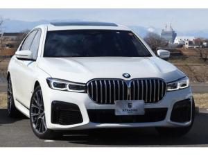 BMW 7シリーズ 750i xDrive Mスポーツ 後期 新車保証付 レーザーライト harman/kardon 20鍛造AW ジェスチャーコントロール ワイヤレスチャージ 電動テールゲート ナッパレザー コックピットディスプレイ ACC HUD