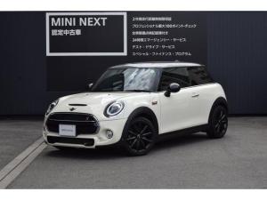MINI クーパーS ペッパーPKG・バックカメラ・LEDライト・純正ナビ
