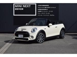 MINI クーパーS コンバーチブル ペッパーPKG・LEDライト・純正ナビ