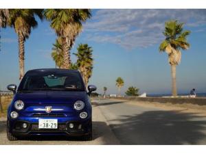 アバルト595 ツーリズモ 純正ドラレコ 純正ETC 受注生産 特別仕様車