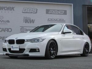 BMW 3シリーズ 320d Mスポーツ 地デジ ワンオーナー 車高調 19AW