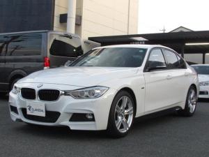 BMW 3シリーズ 320i Mスポーツ 6MT車 BLUETOOTH バックカメラ Mパフォーマンスサイドデカール F両席パワーシート プッシュスタート ETC