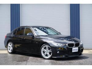 BMW 3シリーズ 320d Mスポーツ Mスポーツパッケージ 当社メンテナンス車 カーボンFリップ&トランクスポイラー レースチップス キセノンヘッド&フォグ キドニーグリル 各種LEDバルブ交換 リア3面スモークフィルム 低ダストパット