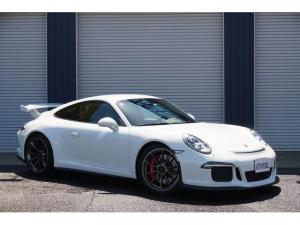 ポルシェ 911 911GT3 正規ディーラー車 左H LEDヘッド(PDLS付) Fリフター スポクロ スポエキ  ガーズレッドシートベルト グレースクリーン プライバシーガラス 前後ドラレコ 純正ナビ TV Bカメラ ETC