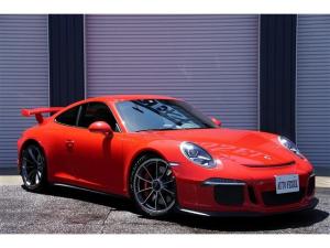 ポルシェ 911 911GT3 左H 正規ディーラー車 2オーナー スポーツクロノPKG スポーツエキゾースト サーキット未走行 ガレージ保管 メーター スポクロ シートベルト キーレス ボディ同色ペイント 当社メンテナンス車