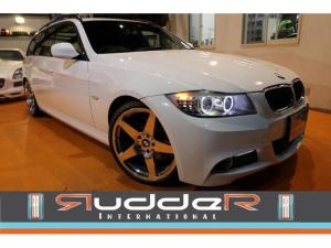 BMW 3シリーズ 320iツーリング Mスポーツパッケージ 320iMスポーツ 後期LCIモデル 19インチAW 社外2本出しマフラー ローダウン アンサーバックキーレス セキュリティ LEDイカリング 直噴エンジン 6.4万キロ