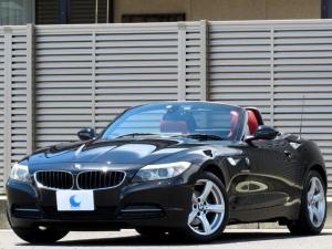 BMW Z4 sDrive23i ハイラインパッケージ 電動オープン レッドレザーシート 純正HDDナビ 地デジフルセグTV DVDビデオ USB&AUXポート ETC ドラレコ バイキセノン スペアキー