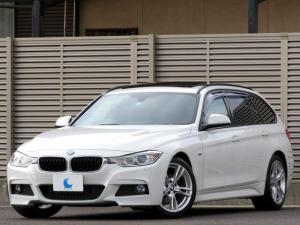 BMW 3シリーズ 320dブルーパフォーマンス ツーリング Mスポーツ パノラミックサンルーフ 純正HDDナビ DVDビデオ Bluetooth リアビューカメラ バイキセノン アイドリングストップ ディーゼルターボ スペアキー