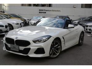 BMW Z4 M40i デモカー 黒レザー ヘッドアップディスプレイ