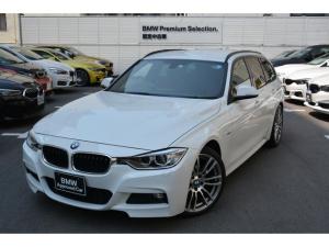 BMW 3シリーズ 320iツーリング Mスポーツ ワンオナ禁煙車 赤レザー