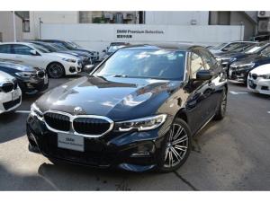 BMW 3シリーズ 320i Mスポーツ 元弊社デモカー 黒レザー コンフォートPKG ハイラインPKG ヘッドアップディスプレイ