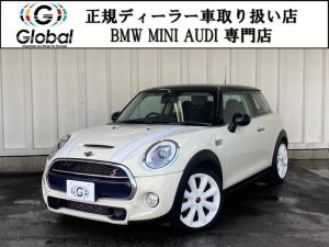 MINI クーパーSD 純正ナビ オプションホワイトAW 1年保証付