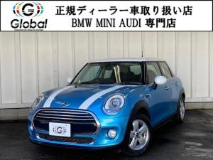 MINI クーパー5D ナビ&TV ミニドライビングモード 1年保証付