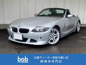 BMW Z4 2.5iオプション17AW 黒革シート シートヒーター禁煙車