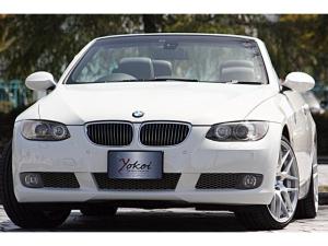 BMW 3シリーズ 335iカブリオレ 電動オープン E93 直6ツインターボ 306ps(カタログ値)19inアルミホイール アルピン・ホワイト ブラックレザーインテリア ミラー内蔵ETC ディーラー記録簿 スペアキー有 シートヒーター