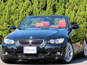 BMW 3シリーズ 335iカブリオレ Mスポーツパッケージ 1オーナー LCI 中期 7速DCT E93 N54エンジン 直6ツインターボ  ダコタレザーインテリア 純正MスポーツAW フロントブレーキパッド新品交換済み タイヤ4本共に2019y製造