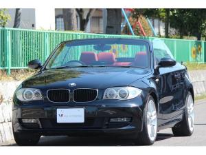 BMW 1シリーズ 120i カブリオレ 赤革 MスポAW 外ナビ TV DVD