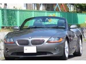 BMW Z4 2.5i E85・BMW Z4・黒革シート・パワーシート・シートヒーター・電動オープン良好・HIDライト・ナビ・オンボードコンピューター・17インチアロイホイール・ETC・オートエアコン・オートライト