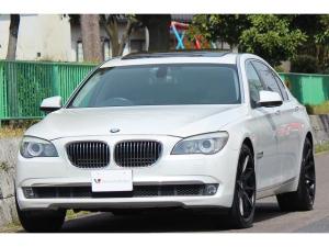 BMW 7シリーズ 740LiコンフォートP 革 22AW ナビ TV DVD