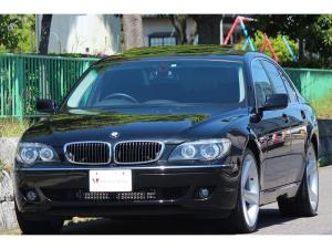 BMW 7シリーズ 740i コンフォートP 黒革 SR 21インチAW ナビ