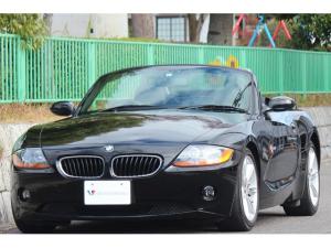 BMW Z4 2.5i 電動オープン・17インチAW・黒革シート・パワーシート・シートヒーター・スポーツモード走行・オートエアコン・HDDナビ・フルセグTV・DVDビデオ・ETC・HIDライト・キーレスキー・スペアキー