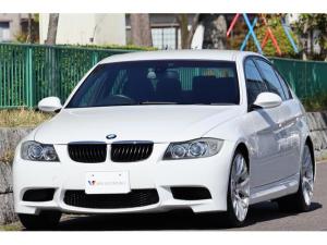 BMW 3シリーズ 320i Mスポーツパッケージ 6速マニュアル・Mスポーツpkg・M3仕様カスタム・M3仕様エアロ・社外19インチAW・M3仕様4本出しマフラー・Mスポ専用スポーツシート・パワーシート・HID・オートAC・AUX IN・記録簿