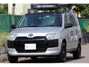 トヨタ プロボックス DXコンフォート 4WD・カスタム有・アウトドア仕様・ルーフラック・ブラックルーフ・ブラックグリル・マットブラックエンブレム・マッドタイヤ・15インチAW・SDナビ・地デジ・ETC・Bluetooth・キーレス