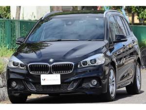 BMW 2シリーズ 218dグランツアラー Mスポーツ 法人1オーナー車・Mエアロダイナミクス・電動トランク・M専用17インチAW・LEDライト・スマートキー・ナビ・TV・DVDビデオ・Bluetooth・AUX・USB・Bカメラ・ドラレコ・ミラーETC