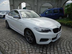 BMW 2シリーズ M240iクーペ AT 1オーナー カーボンリアスポ