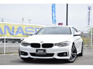 BMW 4シリーズ 420iグランクーペ Mスポーツ 限定車IN STYLE 認定中古車全国1年保証 19インチアロイホイール サドルブラウン/レザー ヘッドアップディスプレイ レーンチェンジウォーニング ワンオーナ車