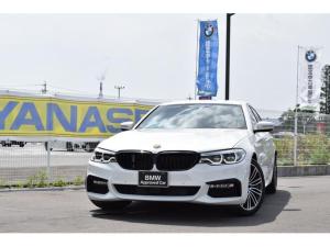 BMW 5シリーズ 523d Mスポーツ 認定中古車全国1年保証付 ワンオーナー車