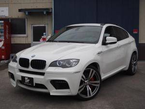 BMW X6 M 左H 22AW サンルーフ 赤革