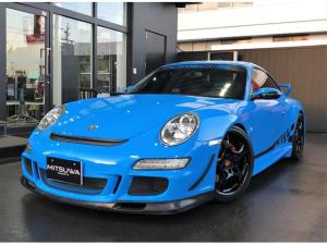 ポルシェ 911 911カレラS リビエラブルー 6MT 黒革Pシート&シートH サンルーフ クライスジーク可変マフラー(リモコン) GT3Fバンパー&Rウイング 外Sステップスポ エウルRバンパー H&Rサス LEDテール&Fランプ