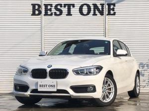 BMW 1シリーズ 118i 純正HDDナビ/Bluetooth/バックカメラ/USB/パークアシスト/プッシュスタート/LEDライト/アイドリングストップ/純正16AW/ランフラットタイヤ/スマートキー2本