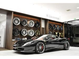 フェラーリ 458イタリア ベースグレード ローダウン 可変マフラースイッチ付き