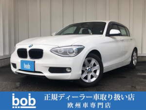 BMW 1シリーズ 116i F20 116i直列4気筒DOHCターボ ワンオーナー Bluetooth AUX 純正16インチアルミホイール スマートキー 本革ステアリング ドラレコ ETC 修復歴無車 禁煙車 正規ディーラー車