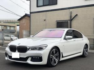 BMW 7シリーズ 740i Mスポーツ サンルーフ ブラウンレザー 20インチ純正AW 純正HDDナビ 地デジ