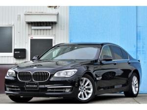 BMW 7シリーズ 740i プラスPKG/純正18AW/純正HDDナビ/フルセグTV/バックカメラ/LEDオートライト/ベージュレザーシート/メモリー機能付きパワーシート/全席シートヒーター/クルコン/オートブレーキホールド
