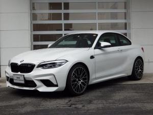 BMW M2 コンペティション 黒革シート シートH Pシート HiFiスピーカー クルコン NAVI Bカメラ ETCアダプティブLED コンフォートアクセス Bluetooth