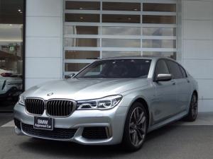 BMW 7シリーズ M760Li xDrive パノラマガラスサンルーフ メリノレザーシート エアサス B&Wダイヤモンド・サラウンドサウンドシステム BMWインテリジェント・パーソナル・アシスタント Individualボディーカラー