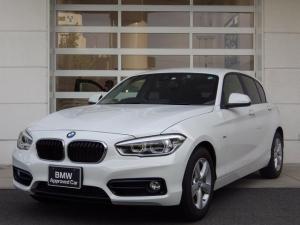 BMW 1シリーズ 118i スポーツ 純ナビ 社外Bカメラ 社外地デジTV 16インチAW