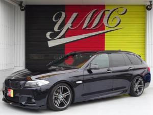 BMW 5シリーズ 523iツーリング Mスポーツパッケージ バックカメラ・エアロ・ウッドパネル・HID・19AW・メーカーナビ・ルーフレール・フルセグTV・シートヒーター・パワーシート