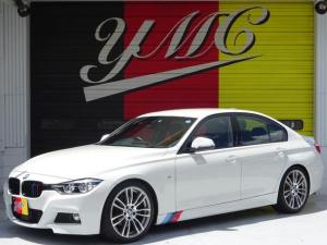 BMW 3シリーズ 320d Mスポーツ 後期モデル ローダウン 純正19インチAW LEDヘッドライト 黒革シート シートヒーター インテリジェントセーフティ 純正ナビ バックカメラ