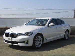 BMW 5シリーズ 530i Luxury LCIモデル・コニャックレザー