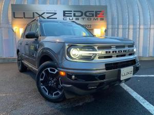 フォード ブロンコ アウターバンクス 1.5Lエコブースト ブラウンツートンレザー 18アルミ