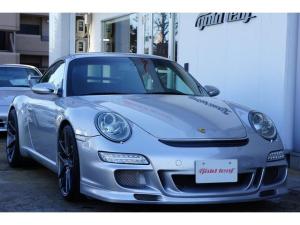 ポルシェ 911 911カレラD車 GT3仕様 黒革シート HDDナビ ETC