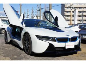 BMW i8 イタリアデザインCARPO 地デジ F&Rスポイラー 禁煙車 スペアキー有
